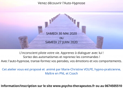 Formation Auto-Hypnose le 4 juillet 2020